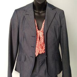 """TALBOTS """"Faux Denim"""" Dress Suit"""